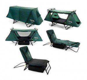 Tent cot perfect for Stargazing or Meteor Shower