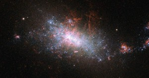 Dwarf Galaxy NGC 1140 undergoes Starburst